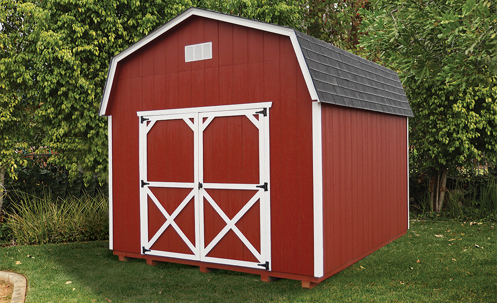 Gable Style Storage Sheds Weaver Barns