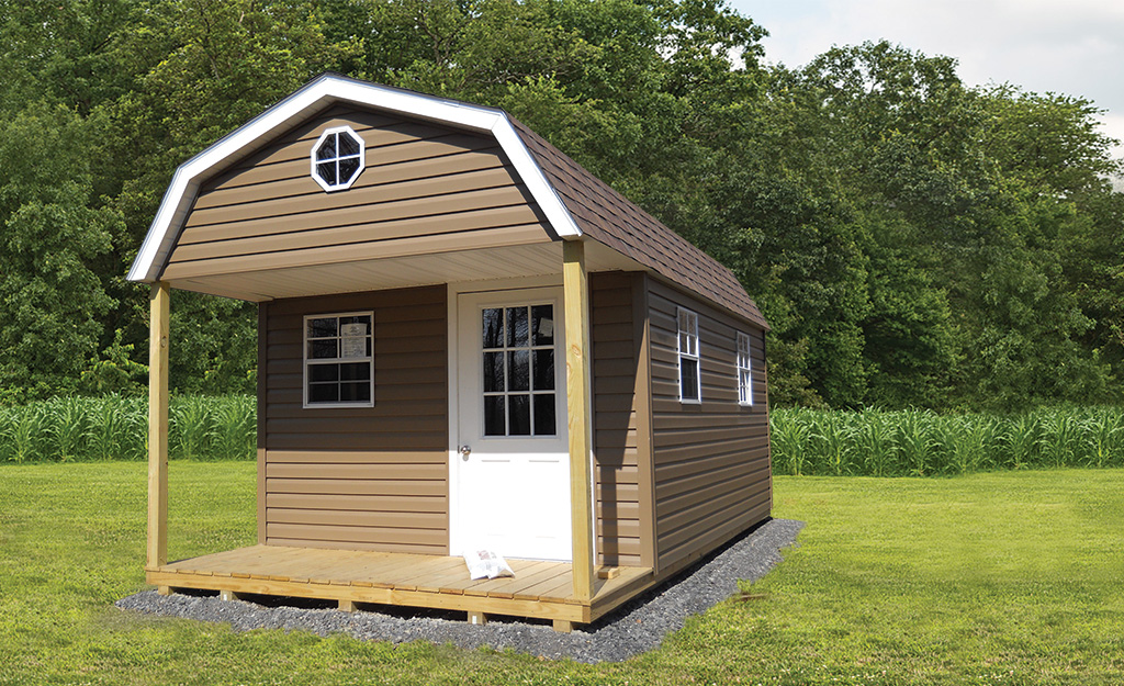 Saltbox storage sheds weaver barns for Saltbox storage shed
